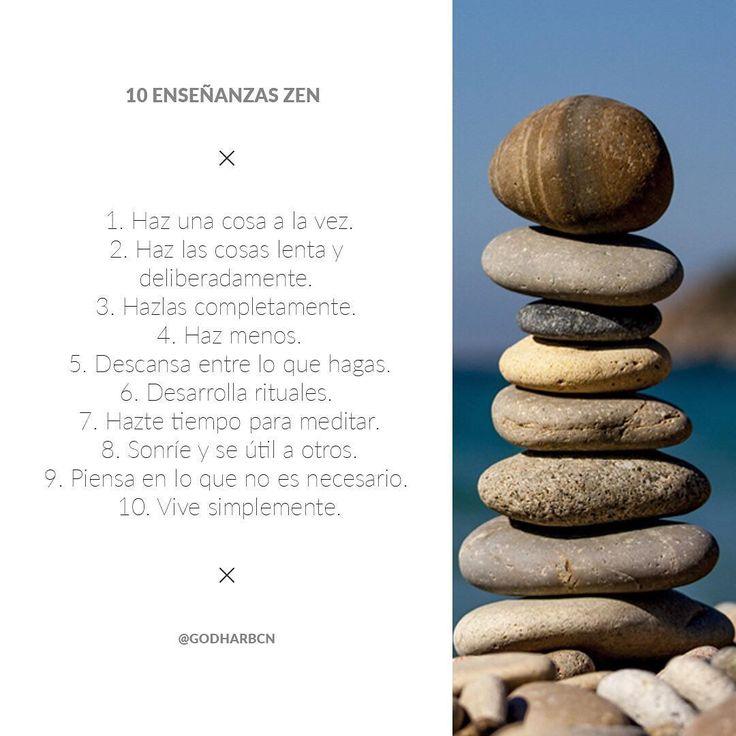Para incorporar en tu vida diaria ✨ 🙏🏻 ✨ #zen #meditacion #yoga #inspiracion #vidasaludable #espiritualidad