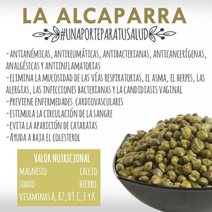 Beneficios de las Alcaparras #EnTransiciónProVida www.facebook.com/EnTransiciónProVida