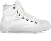 Witte Converse sneakers All Star Hi gympen