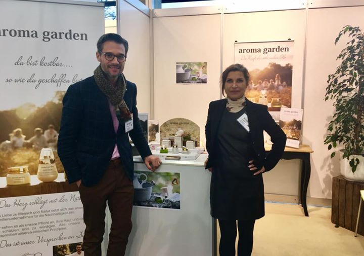 We recieve you together with Ellen on the international natural cosmetic fair vivaness until saturday - fantastic encounters with people from all around the world..