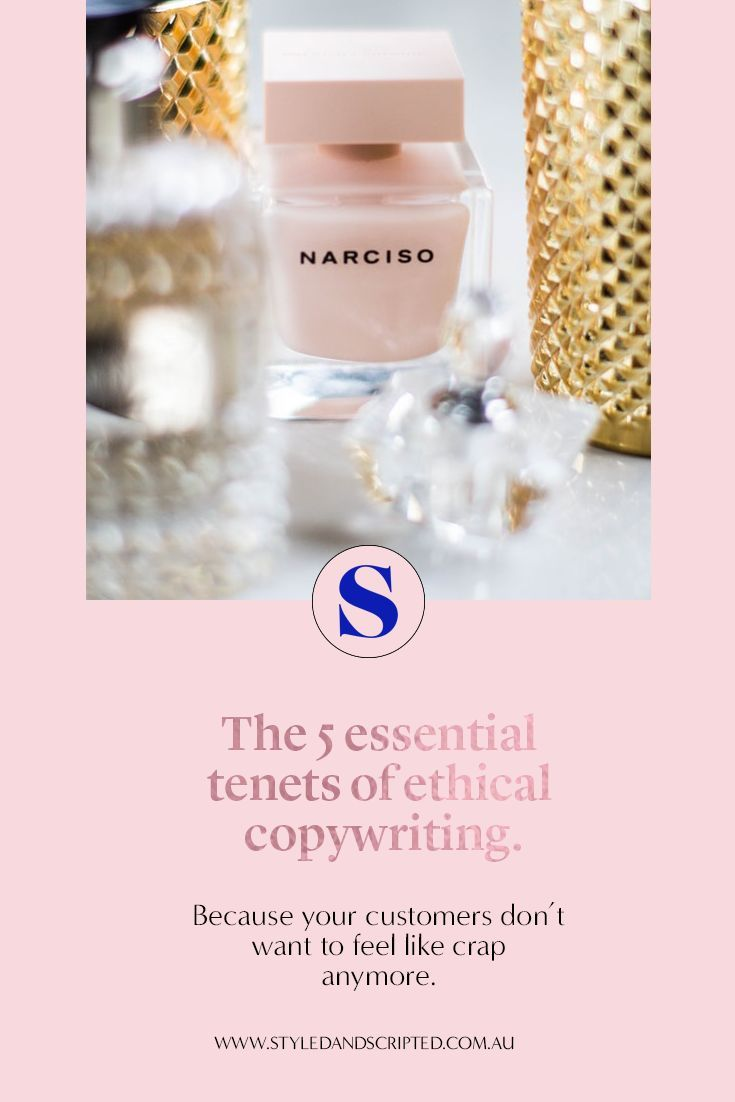 The 5 Essential Tenets Of Ethical Copywriting Melbourne Copywriter Copywriting Copywriting Ads Copywriting Inspiration