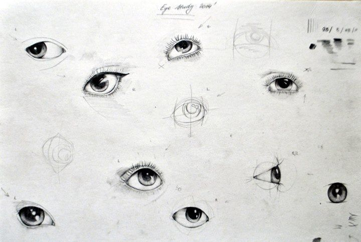 Eye pencil drawing study by Olenka more here: https://www.facebook.com/pages/Olenka/647167888679052