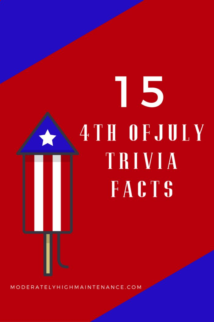 15 Independence Day Trivia Facts! 4th of July Trivia #July4th