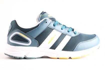 Wickers Erkek Yeşil Beyaz Serin Koşu ve Yürüyüş Ayakkabısı