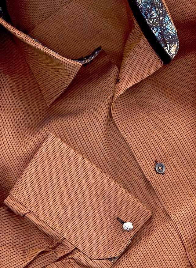 luchiano visconti french cuff shirt