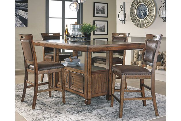 Royard Counter Height Dining Room Table Counter Height Dining Room Tables Dining Room Table Rustic Dining Room Table