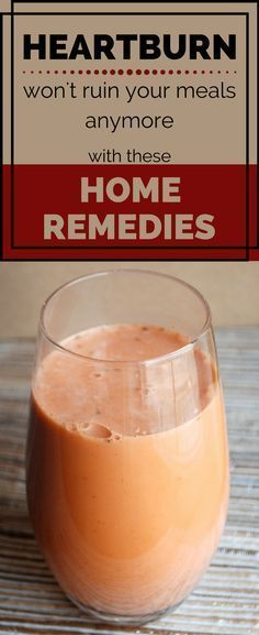 Heartburn Won't Ruin Your Meals Anymore With These Home Remedies #AcidRefluxHelpAndAdvice