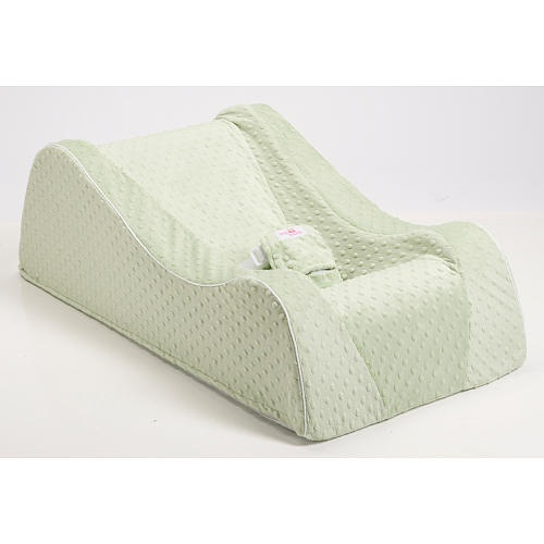 "Nap Nanny Chill Portable Recliner - Minky Sage - Nap Nanny - Babies ""R"" Us"