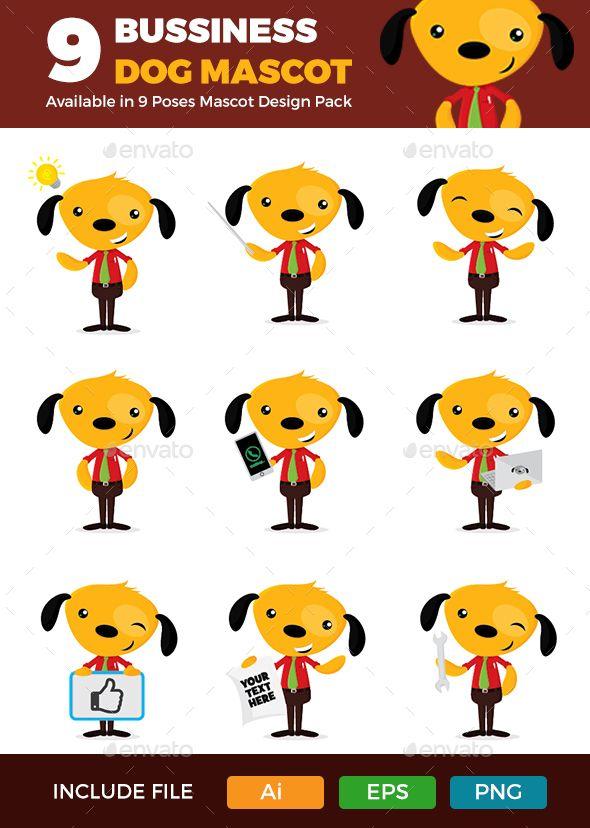 Bussiness Dog Mascot 1.0