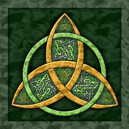 Celtic Triquetra: This particular symbol comes in the form of a triangular Celtic knot and is said to be a representation of the spiritual, the mental, and the physical which are known as the three planes of human existence. It might interest you to know that although the three points are separate, yet they are interlocked. This goes further to symbolize the connection existing between the mentioned three planes.