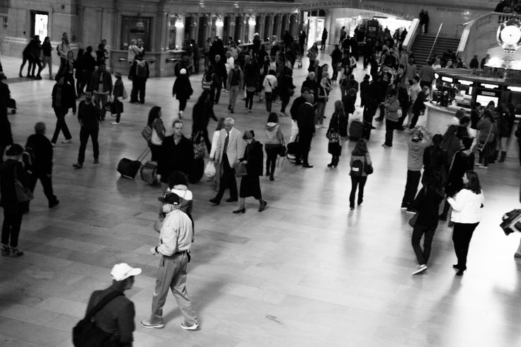 Grand Central Station Travellers