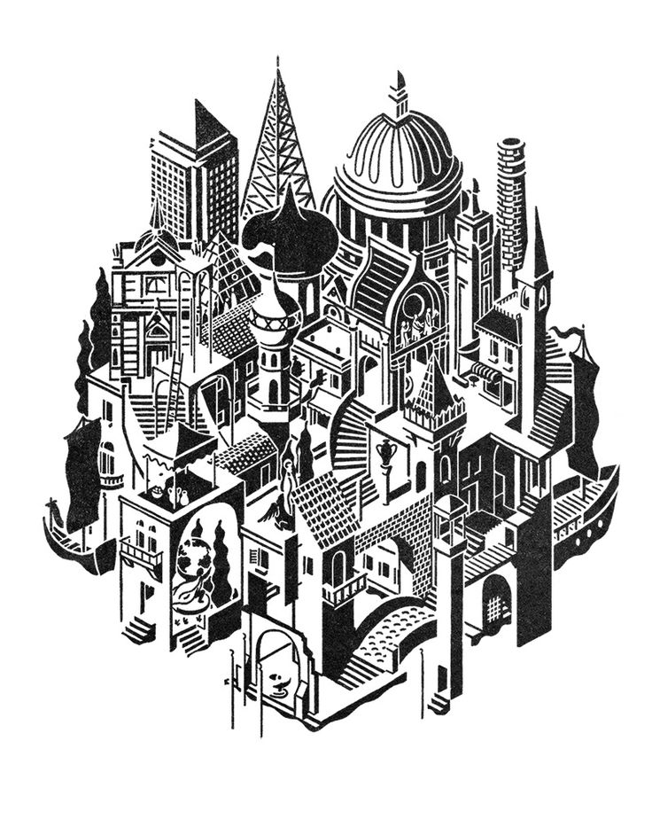Invisible Cities *NEW - James Lewis Illustration
