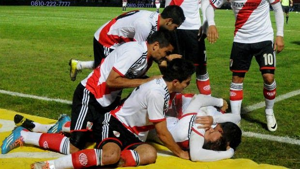 "River Plate 1x1 Tigres - Copa Libertadores 2015 ""Ривер Плейт"" (Буэнос-Айрес, Аргентина) - ""Тигрес"" (Монтеррей, Мексика) - 1:1 (0:1) | Футбол Англии, Испании и Южной Америки. Обзоры матчей. Голы."