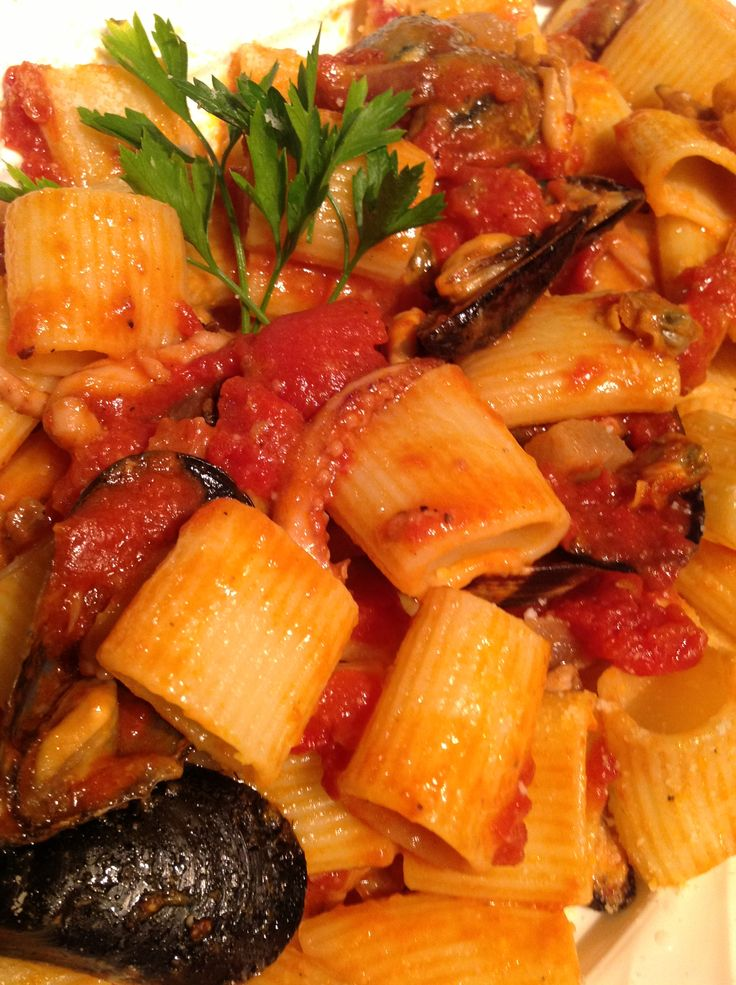 Matriciana di Pesce, ricetta su appesiaunospago.it