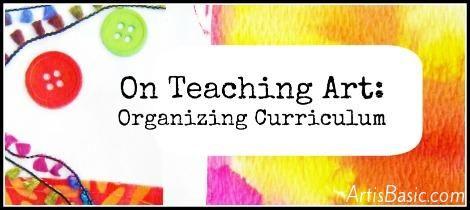 organizing curriculum suggestions