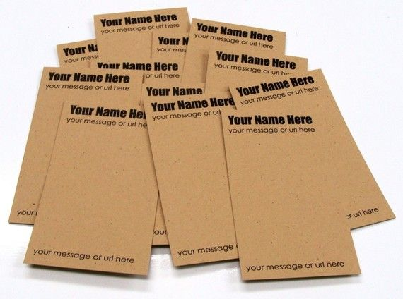 50 Personalized Product Hang Tags Labels or Earring by scrapbits, $28.00