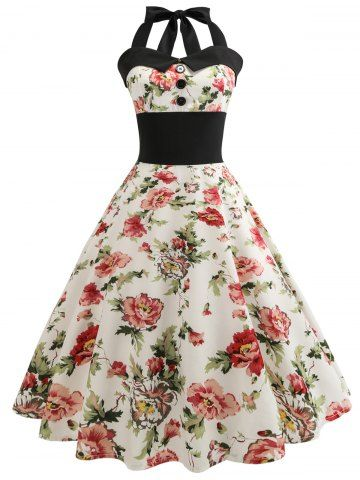 GET $50 NOW | Join RoseGal: Get YOUR $50 NOW!https://m.rosegal.com/vintage-dresses/retro-floral-print-halter-pin-1262572.html?seid=9srr18e1o8rqvhihcc5mf3g0r1rg1262572