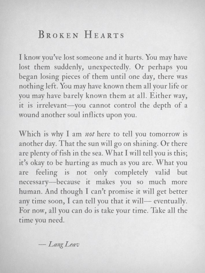 What I can tell you is this...... Take all the time you need. What your life holds for you when you recover, is up to you.