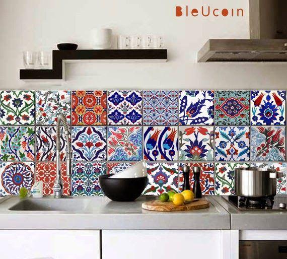 Gypsy Yaya: Turkish Tile Decals