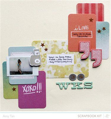 34 Weeks *Studio Calico September Kits* - Club CK - The Online Community and Scrapbook Club from Creating Keepsakes