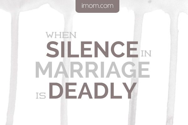 Talking about small conflicts in marriage can prevent their turning into bigger problems.
