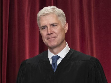 In this June 1, 2017 file photo Supreme Court Associate Justice Neil Gorsuch is seen during an official group portrait at the Supreme Court Building in Washington, D.C.; Credit: J. Scott Applewhite/APNina Totenberg | NPRBy now, we can probably say that Justice Anthony Kennedy is not retiring from the