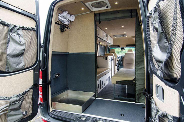 Sprinter van with bathroom