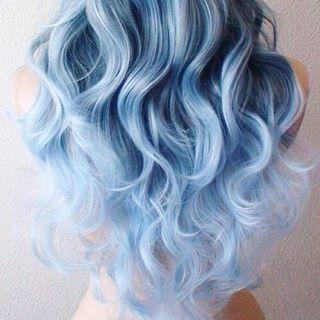 Claro. | El pelo denim es la última tendencia de coloración para el cabello y es absurdamente hermoso