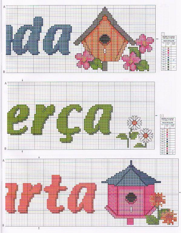 SEMANINHA COM CASAS DE PASSARINHOS 1F - http://artebycachopapontocruz.blogspot.com.br/2011/06/semaninha-com-casas-de-passarinho.html