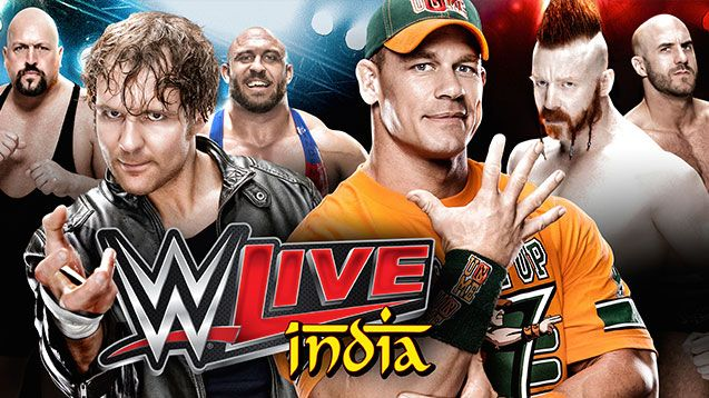 wwe live in india 2015 | WWE Coming to New Delhi, India - Tickets on sale from November 4, 2015