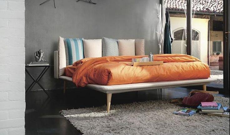 New #minimal #modern bed with #retro details by #Noctis. Νέο #κρεβάτι #μίνιμαλ σχεδιασμού με #ρετρό λεπτομέρειες από την #noctis www.oikade.com.gr #bedroomfurniture #bedroomdecor #bed #retrostyle...