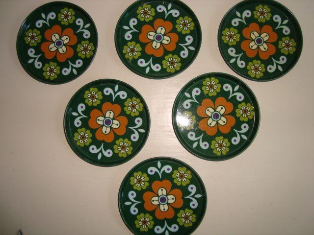 Retro coasters. #trendyenser #retrostuff #retro #retrocoasters #coasters from www.TRENDYenser.com SOLGT/SOLD