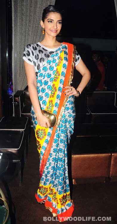 Sari--funky style.