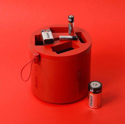 Boîte Alcaline Box / Pour piles usagées - Exclusivité web