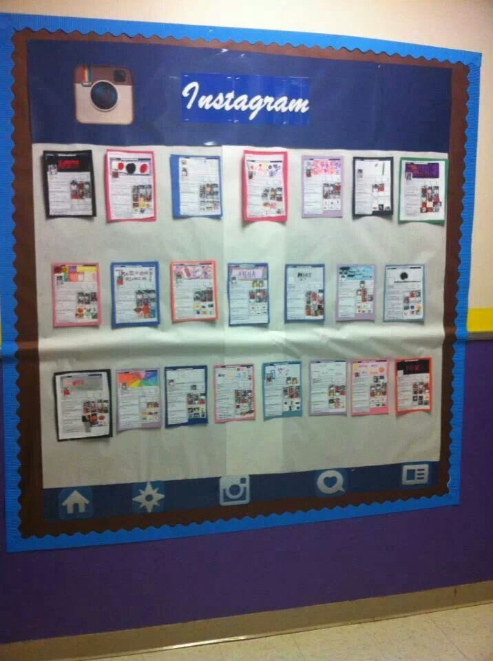 Classroom Decor Instagram ~ Best images about social media in the classrooom on
