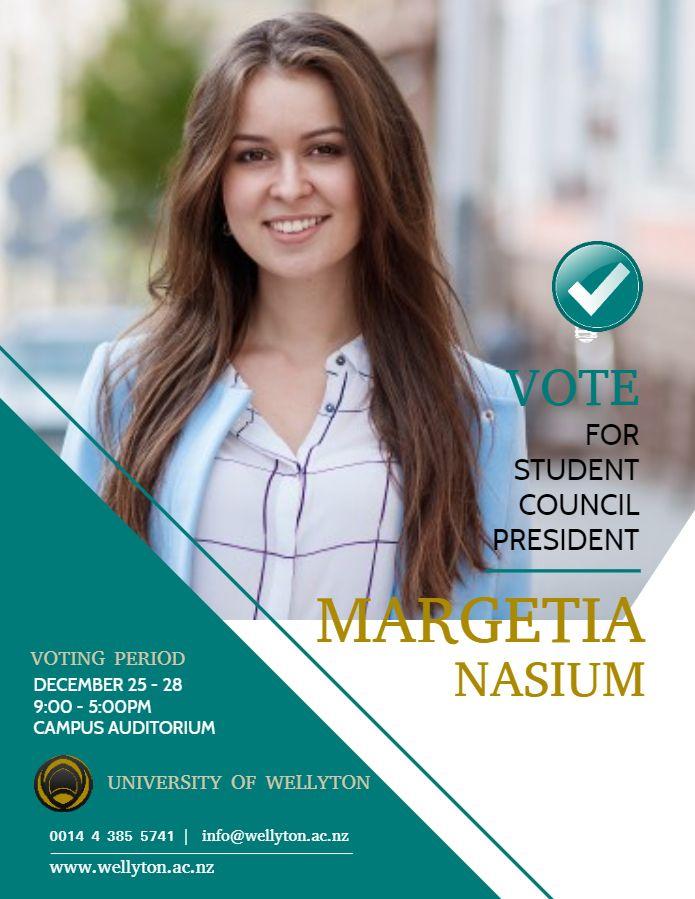 Vote Flyer Template Hoyuk Westernscandinavia Org