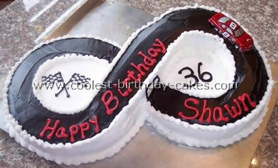 Coolest Homemade Race Track Cake Photos and Tips