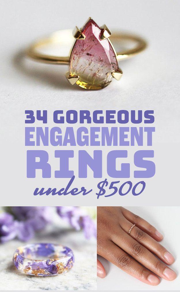 Best 10 Engagement rings under 500 ideas on Pinterest