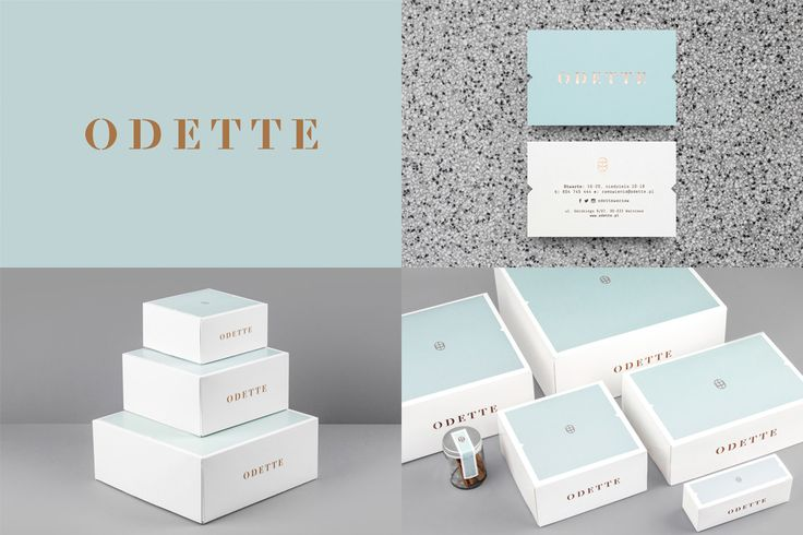 Odette by Dmowski & Co. Luxury branding done well.