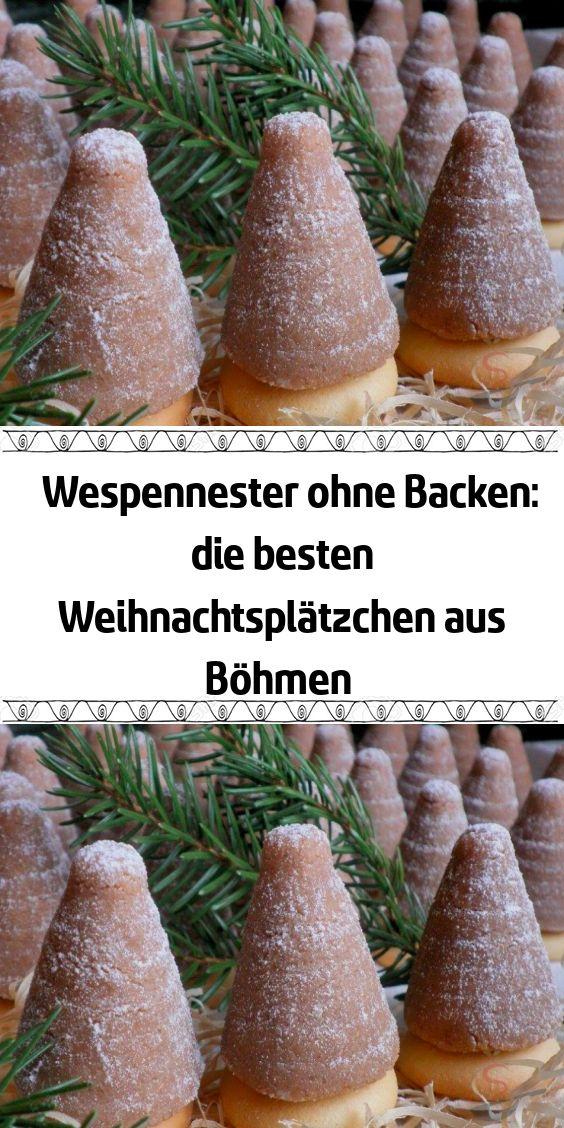 Wespennester ohne Backen: die besten Weihnachtsplätzchen aus Böhmen