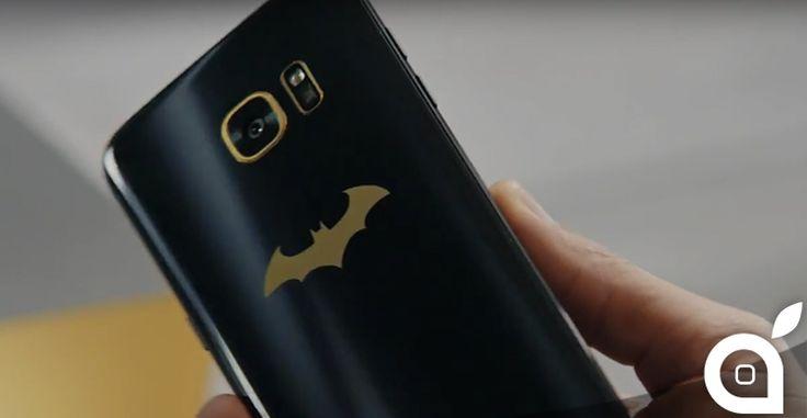 Samsung annuncia il Galaxy S7 EDGE Injustice Edition con tanto di logo di Batman sul retro [Video]