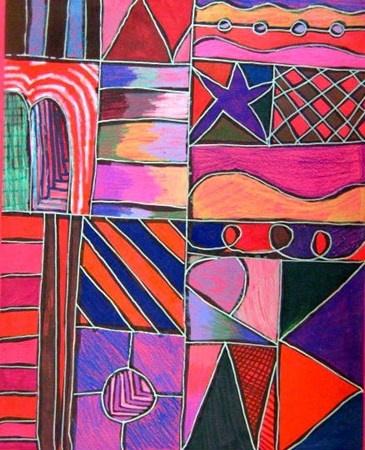 line, shape, pattern