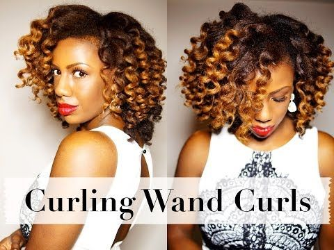 Get The Perfect Curl Wand Set with these 5 Tips, Tutorials, & Best Reviewed Curl Wands - Natural Hair Rules!!!
