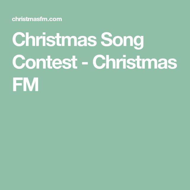 Christmas Song Contest - Christmas FM