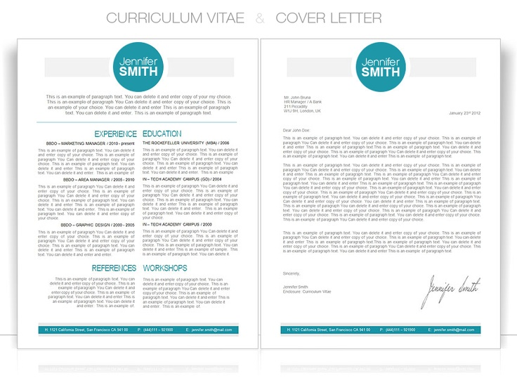 10 best CV Templates images on Pinterest Resume templates - ms word cover letter template