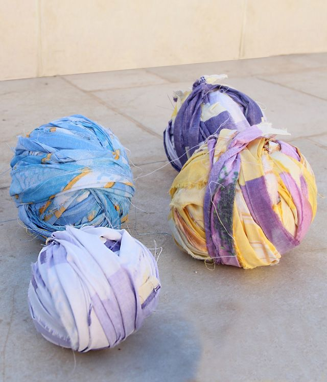 How To Make Yarn From Sheets  | Pinimprovement Recipes, Beauty, craft, DIY, Cook and Fitness