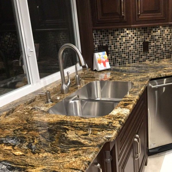 NATURAL STONEMagma Gold Granite Is