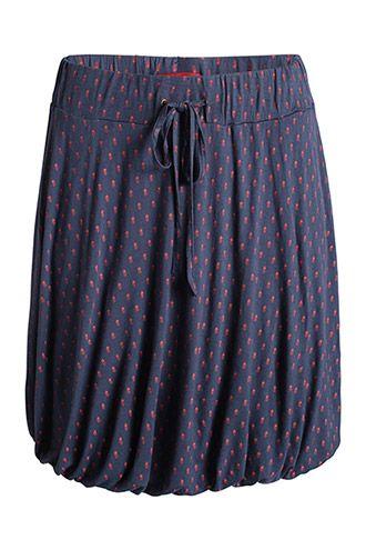 jersey balloon skirt