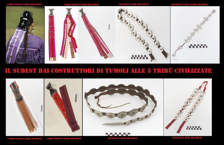 Le acconciature femminili spesso sono arricchite da vistosi ornamenti.  Questi reperti sono stati fortemente influenzati dai prodotti commerciali euroamericani.