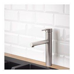 MALMSJÖN Köksblandare, rostfritt stålfärg - - - IKEA